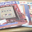 5 Cross Quick Magazines – Easy Projects for Cross Stitch Lovers