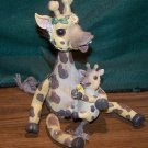 Giraffe with Baby and Ducky Figurine