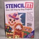 Stencil It! By Sally & Stewart Walton – 100 Step-By-Step Projects