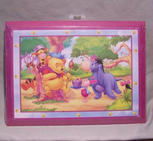 Pooh Wall Picture � Pooh Crowned King - New In Shrink Wrap