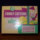 Vintage - Metal Cookie Cooky Cutters - Easter - 6 Pc - IN BOX