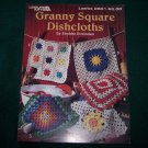 Pattern LEISURE ARTS GRANNY SQUARE DISHCLOTHS Crochet Leaflet