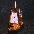 SERGIO VALENTE Miniature Designer Clock - PIRATE SHIP – Sailing Ship