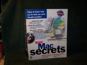 Vintage - Mac Secrets � 5th Edition  - Macworld � 1291 Page PaperBack