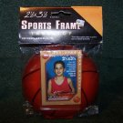 BASKETBALL Shaped - Card or Photo Frame 2.5X3.5 MCS TABLETOP SPORTS FRAME