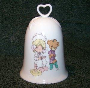 PRECIOUS MOMENTS LOVE BEARETH ALL THINGS BELL ~ 1994