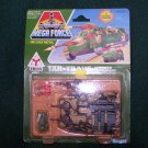 Vintage 1989 Mega Force Kenner Tar-Traks Armored Transport Die Cast Metal Toy Vehicle