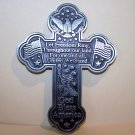 Let Freedom Ring Cross – Pewter Wall Décor! Beautiful!