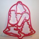 1991 Jello Jigglers Holiday Christmas Theme Cookie Cutter Molds – 5 Shapes