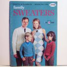 Vintage Coats & Clark's Family Sweaters Book No. 178