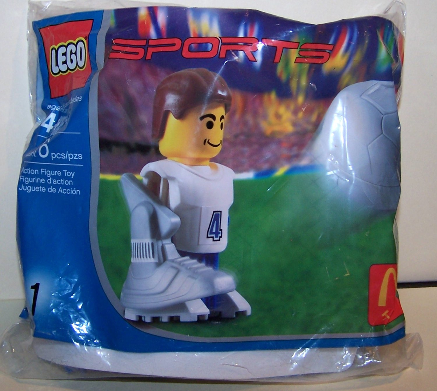 2004 Lego 1 Sports Soccer Football Legos Toy Mcdonald S