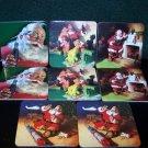 Vintage Coca Cola Santa Claus Coasters set of 8 – 2 each of 4 Different Santa Scenes Coke