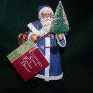 Possible Dreams, LTD.~ Clothtiques ~ Ornament Santa – Blue Cape Santa ~ 1993