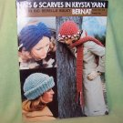 Hats & Scarves – Vintage Bernat Book 212 Crochet Knit Patterns