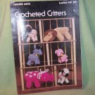 Crochet PATTERNS Crocheted Critters Lamb Kitten Pig Horse Donkey Elephant