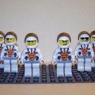 6 Lego Mars Mission Space Astronauts – Minifigs / Mini Figures