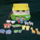 23-PIECE NOAH'S ARK SHAPE SORT PLAY SORTER TOY PLAY/GIFT SET WOOD/WOODEN TODDLER