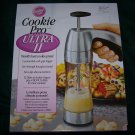 WILTON COOKIE PRO - ULTRA II COOKIE PRESS ~ Pre Owned