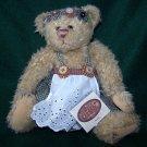"""Ganz Cottage Collectibles """"Sweetie"""" Bear by Artist Lorraine Chien Retired"""