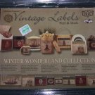 Melissa Frances Vintage Labels – Winter Wonderland Collection – Peel & Stick