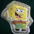 "Wilton SpongeBob ""Thumbs Up"" Cake Pan #2105-5130 Sponge Bob - 2002 Retired"