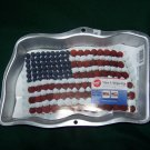 NWT Wilton Stars and Stripes Flag Cake Pan: Perfect for July 4th