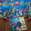 Lego Atlantis 30042 36 piece Mini-Sub & Minifigure (Includes 2 sets)