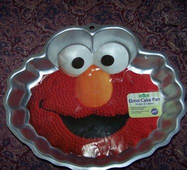 Wilton Sesame Street Elmo Face Cake Pan 2105 3461