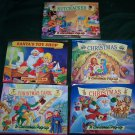 5 Great Christmas Pop-up Books – Like New! GREAT CHRISTMAS GIFT!
