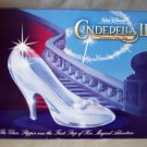 Disney's CINDERELLA II Lithograph Portfolio Set of 4 Lithos in Disney Folder FREE SHIPPING!