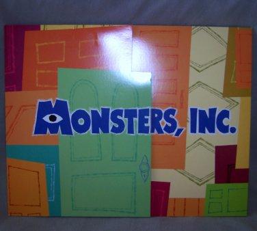 Monsters, Inc. - Disney Lithograph Portfolio Set of 4 Lithos - FREE SHIPPING