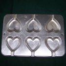 Wilton Cookie Treat Pans Heart 2105-8104 LOVE & Blossom Shape Pans