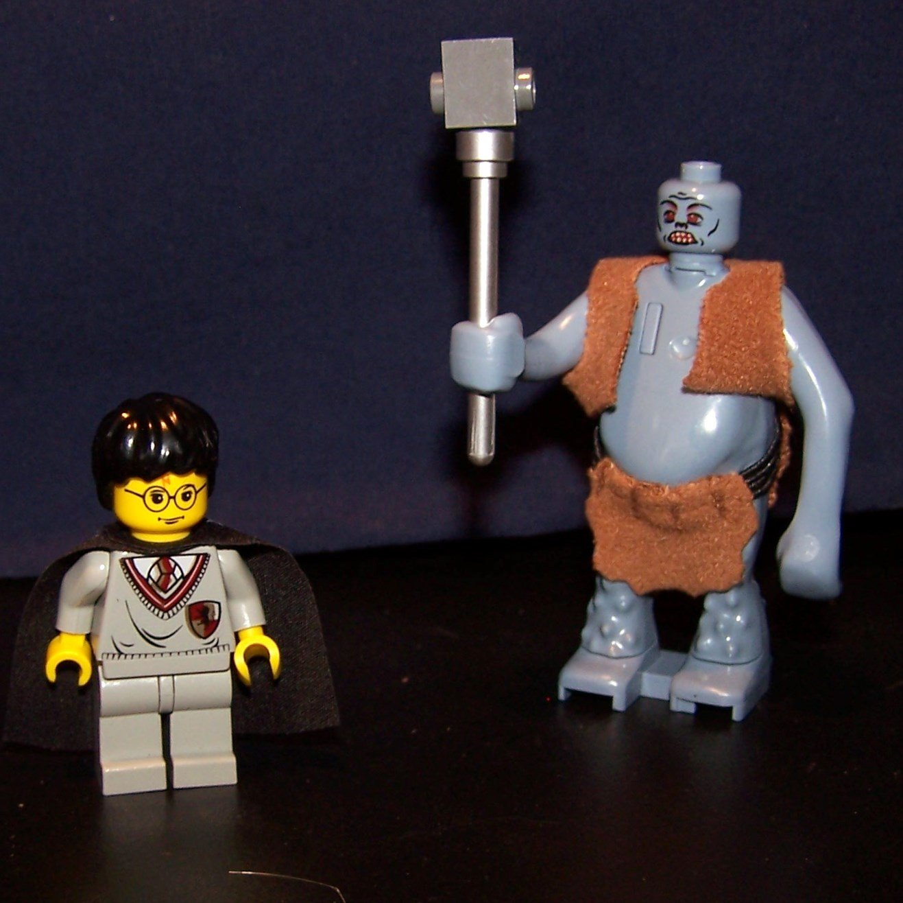 Lego Harry Potter Amp Dungeon Troll Harry Potter