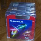 10 FUJIFILM 100 MB Zip Disks – MAC Formatted - Colored NEW in Cases Shrink Wrapped