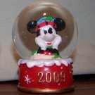 RARE 2009 Disney Mickey Mouse Snow Globe. JCPenney Christmas Promo