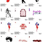ELVIS PRESLEY (2) - 12 EMBROIDERY DESIGNS