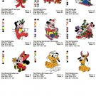 DISNEY CHRISTMAS BABIES - 9 EMBROIDERY DESIGNS