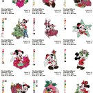 DISNEY CHRISTMAS (1) - 20 EMBROIDERY DESIGNS