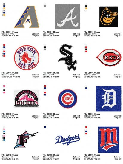 MBL LOGO - 22 EMBROIDERY DESIGNS