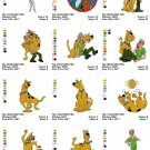 SCOOBY DOO - 30 EMBROIDERY DESIGNS
