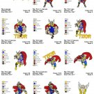 THOR - 15 EMBROIDERY DESIGNS