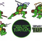 NINJA TURTLES (2) - 6 EMBROIDERY DESIGNS