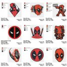 DEADPOOL  - 9 EMBROIDERY DESIGNS