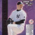 ROGER CLEMENS 2000 MLB SHOWDOWN FIRST EDITION FOIL #296 NEW YORK YANKEES