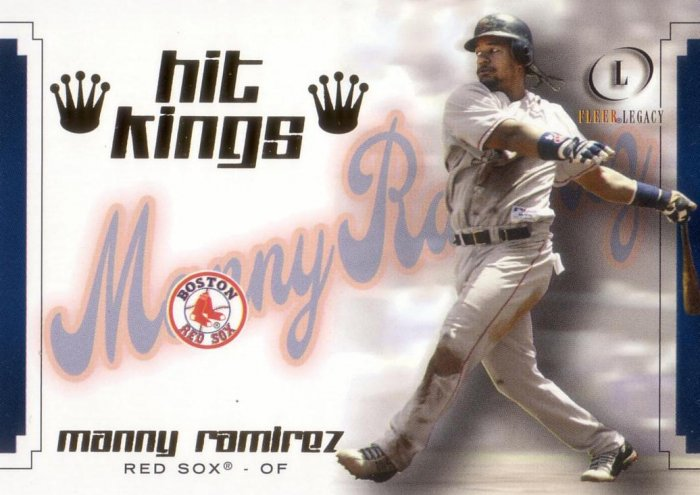 MANNY RAMIREZ 2004 LEGACY HIT KINGS #14HK BOSTON RED SOX