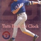 ALEX RODRIGUEZ 2004 ULTRA TURN BACK THE CLOCK #2TBC TEXAS RANGERS