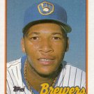 GARY SHEFFIELD 1989 TOPPS #343 ROOKIE MILWAUKEE BREWERS