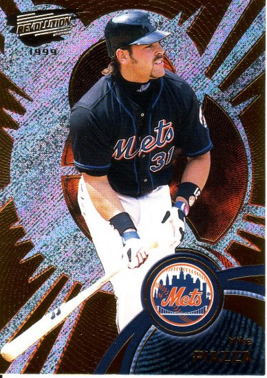 MIKE PIAZZA 1999 REVOLUTION #91 NEW YORK METS