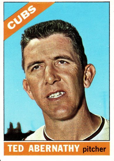 TED ABERNATHY 1966 TOPPS #2 CHICAGO CUBS