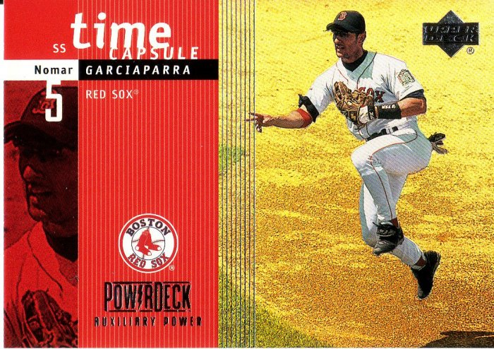 NOMAR GARCIAPARRA 1999 POWER DECK TIME CAPSULE #T6 BOSTON RED SOX